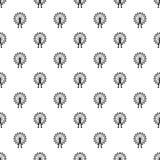 Ferris wheel pattern, simple style Royalty Free Stock Image