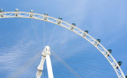 Ferris wheel. The picture was taken in Singapore Stock Image