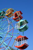 Ferris wheel Player of the fun kids. With blue sky Royalty Free Stock Image