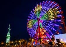 Ferris wheel at Port of Kobe Stock Photo
