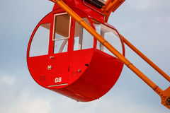 Ferris wheel at Port of Kobe Royalty Free Stock Image