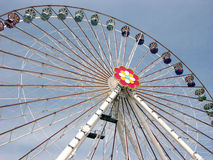 Ferris wheel in Prater amusement park in Vienna, Austria Stock Image