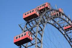 Ferris wheel in Prater park in Vienna Stock Photography
