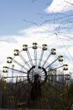 Ferris wheel in Pripyat ghost town, Chernobyl Royalty Free Stock Photos