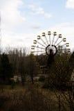 Ferris wheel in Pripyat ghost town, Chernobyl Stock Image