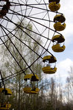 Ferris wheel in Pripyat ghost town, Chernobyl Stock Photography