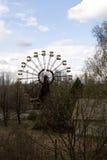 Ferris wheel in Pripyat ghost town, Chernobyl Stock Photo