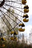 Ferris wheel in Pripyat ghost town, Chernobyl Royalty Free Stock Photography