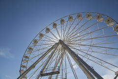 Ferris wheel on Provence Stock Image