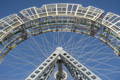 Ferris wheel public art (details) Royalty Free Stock Image
