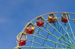 Ferris wheel in the park Stock Photography