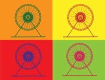 Ferris Wheel retro Imagen de archivo
