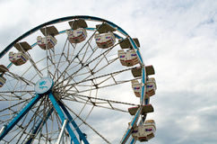 Ferris wheel ride stock image