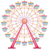 A ferris wheel ride Royalty Free Stock Photos