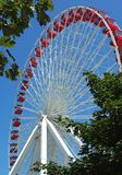 Ferris Wheel Ride at Navy Pier, Chicago IL Royalty Free Stock Photo
