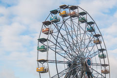 Ferris Wheel Right Imagem de Stock Royalty Free