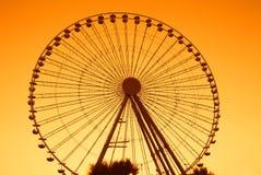 Ferris wheel in rimini Royalty Free Stock Image
