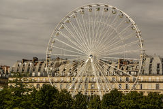 Ferris wheel (Roue de Paris) on the Place de la Concorde from Tu Stock Photography