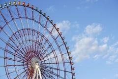 Ferris Wheel rouge photographie stock libre de droits