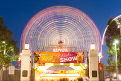 Ferris wheel at Royal Adelaide Show Royalty Free Stock Photography