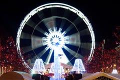 Ferris wheel - Saint Catherine, Brussels, 2011 Stock Photo