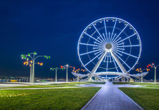 Ferris wheel at sea boulevard Stock Photos