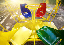 Ferris Wheel seats Royalty Free Stock Image