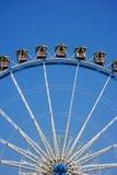 Ferris wheel section royalty free stock photos