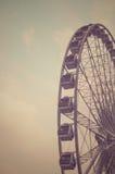 Ferris Wheel Silhouette Royalty Free Stock Photos