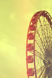 Ferris Wheel Silhouette Royalty Free Stock Images