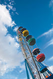 Ferris wheel at sky Royalty Free Stock Photo
