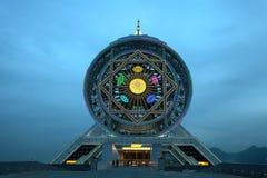 Ferris wheel on a sky as a background, Turkmenistan. Stock Photos
