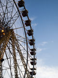 Ferris wheel. On sky background royalty free stock images