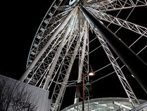 Ferris wheel. The skywheel on Clifton Hill at Niagara Falls Canada Stock Photography
