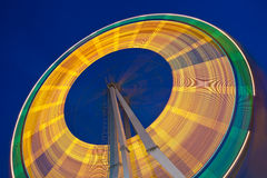 Ferris wheel at slow shutter speeds Royalty Free Stock Images