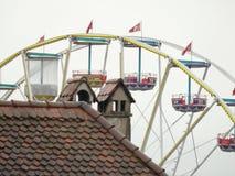 Thun, Switzerland. 08/03/2009. A detail of the Ferris wheel stock photo