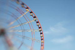 Ferris Wheel. Soft focus. Stock Image