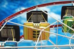 Ferris Wheel-Sonderkommando Lizenzfreie Stockfotografie