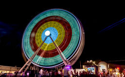 Entertainment Park - Ferris Wheel Stock Image
