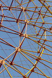 Ferris wheel spokes Stock Image