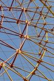 Ferris wheel spokes Stock Image