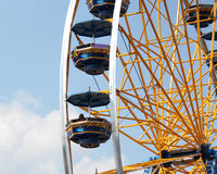 The Ferris Wheel. Ferris wheel at the state fair Stock Photography