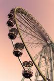 Ferris wheel in the summer Royalty Free Stock Photos