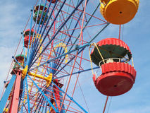The Ferris wheel Royalty Free Stock Images