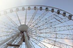 Ferris wheel in summer Royalty Free Stock Image