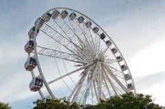 Ferris Wheel before sunest Royalty Free Stock Photos