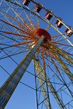 Ferris wheel on a sunny day Royalty Free Stock Photos