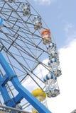Ferris wheel at sunrise Royalty Free Stock Photography