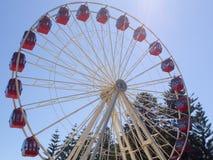 Ferris Wheel sur l'esplanade dans Fremantle, Australie occidentale photos stock