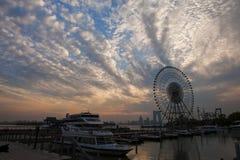 The Ferris wheel at Suzhou,China Stock Photos